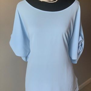 Michael Kors light blue top